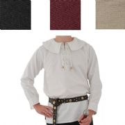 Wide Collar Shirt - 4 Colours